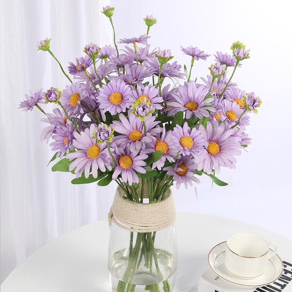 plasticflower, dutchchrysanthemum, Decor, silk