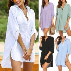 blouse, Fashion, Shirt, Pure Color