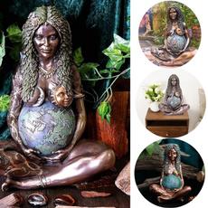 motherearthstatue, art, Garden, earthmotherfigurinegardenornament