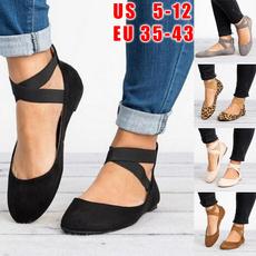 casual shoes, Flats, fashion women, Plus Size