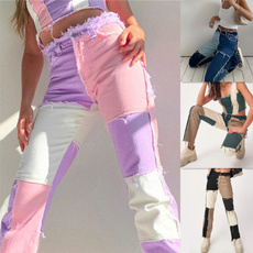 stitchedjean, fashion women, trousers, high waist jeans