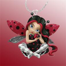 ladybug, Fashion, Jewelry, Festival