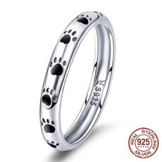 Sterling, cute, wedding ring, 925 silver rings