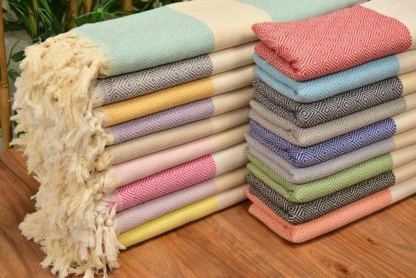 peshtemal, beachtowelthrow, DIAMOND, Towels