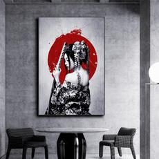 japanesehomedecor, art, Decoración de hogar, Samurai