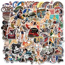 Car Sticker, suitcasesticker, Waterproof, Stickers