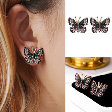 Sterling, butterfly, gold, Wedding