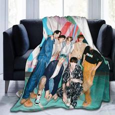 K-Pop, Soft, Sofas, Blanket