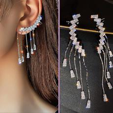 DIAMOND, surprise, Ear Cuff, Earring