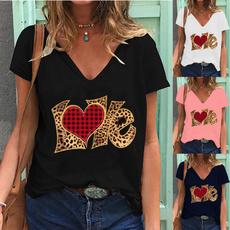 Summer, Fashion, Love, Women Blouse