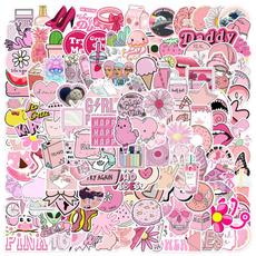 pink, bottlesticker, luggagesticker, phonesticker