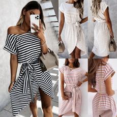 Summer, short sleeve dress, beachdresse, Dress