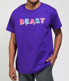 Funny T Shirt, Cotton T Shirt, purple, menblackshirt