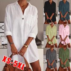 Summer, fashion women, Plus Size, Shirt