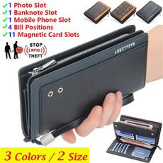 leather wallet, shortwallet, Capacity, men_wallet