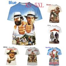 Mens T Shirt, Fashion, budspencerandterencehill, Sleeve