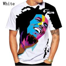 Printed T Shirts, bobmarley, Shirt, Tops