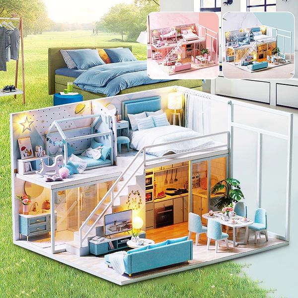 miniaturehousekit, led, Home & Living, lights