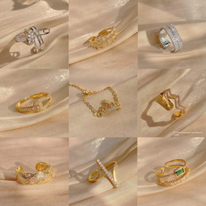 Simplicity, individuality, femalering, Jewelry