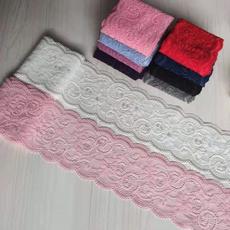 lace trim, Lace, Elastic, garment