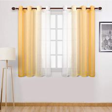 gradientcolor, Decor, Home & Living, windowtullecurtain