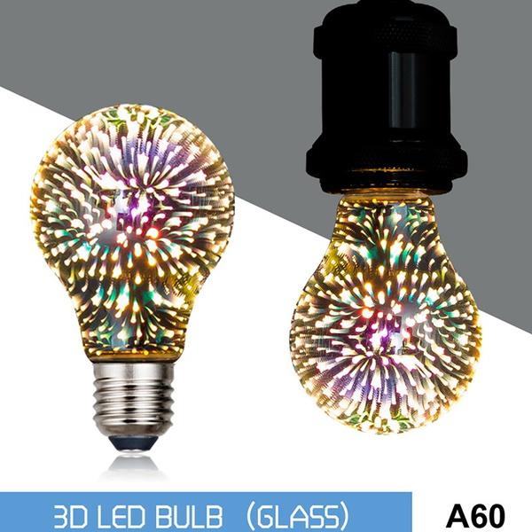 3dblub, fireworkslight, energysavinglamp, Christmas