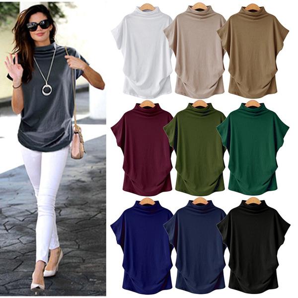 shirtsforwomen, Summer, Bat, Fashion