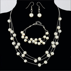 pearlmetalearring, pearl jewelry, ladiespearlnecklace, Jewelry