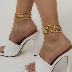 Simplicity, Fashion, Anklets, Chain