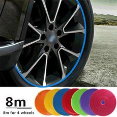 Car Sticker, wheeltire, Colorful, Cars