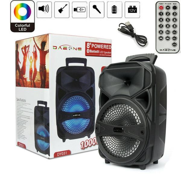sound, led, portable, lights
