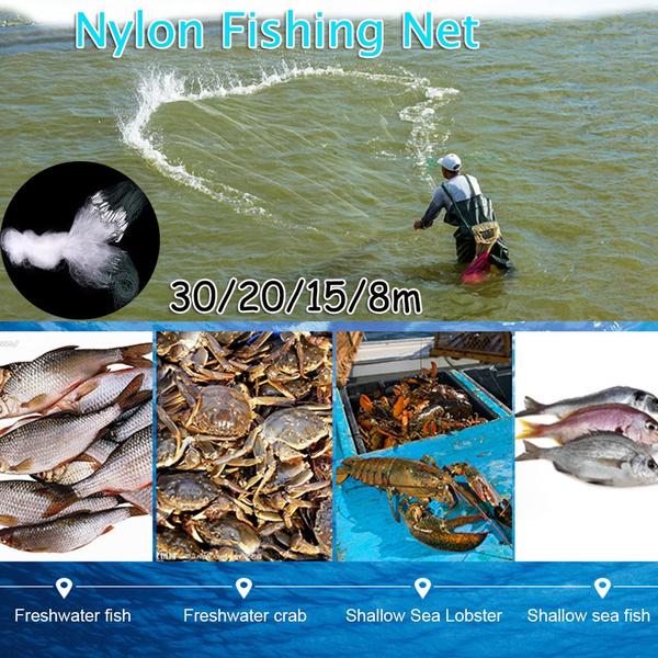 Nylon, foldfishingnet, Fish Net, fish