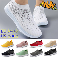 Sneakers, Fashion, Outdoor, Elastic