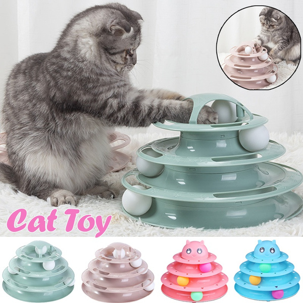 Funny, cattoy, Toy, catballtower