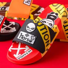 Sandals & Flip Flops, Outdoor, graffitislipper, Fashion