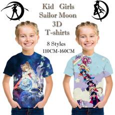 Summer, Sailor Moon shirt, Classics, Tops