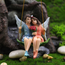 Flowers, Garden, resinartificialgift, loverscouplesweddingdecoration