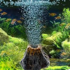 volcanoshape, fishaquarium, Tank, aquariumoxygenpump