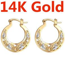 butterfly, engagementgift, Hoop Earring, Jewelry