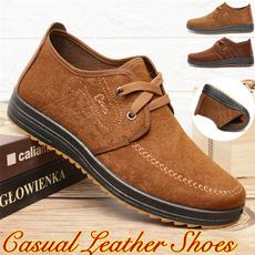 casual leather shoes, leathershoesformen, shoes for men, breathableleathershoe