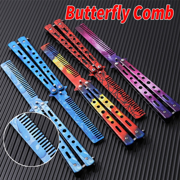 butterfly, Steel, Blade, butterflyknifecomb