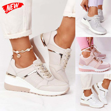 wedge, Sneakers, Sport, Lace