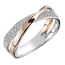 Rose Gold Ring, Gifts, Diamond Ring, platinumring