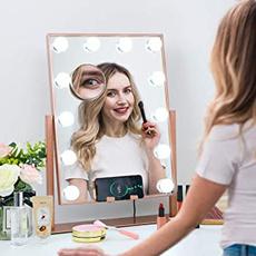 led, Beauty, lights, Makeup