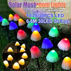 mushroomlamp, Outdoor, solargardenlight, Mushroom