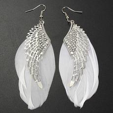 Fashion, Angel, Metal, Earring