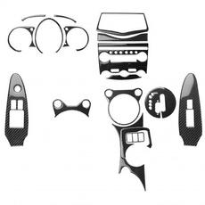 gearshiftsticker, Fiber, outletventcover, doorhandlecover