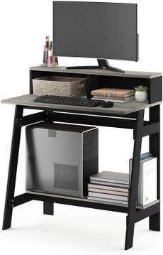 computerdesk, Computers, Grey, Desk