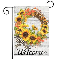 Sunflowers, Garden