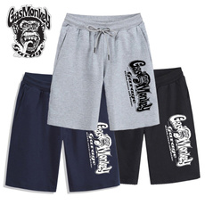 Summer, Shorts, monkey, Casual pants